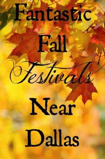 Fall Festivals Near Dallas