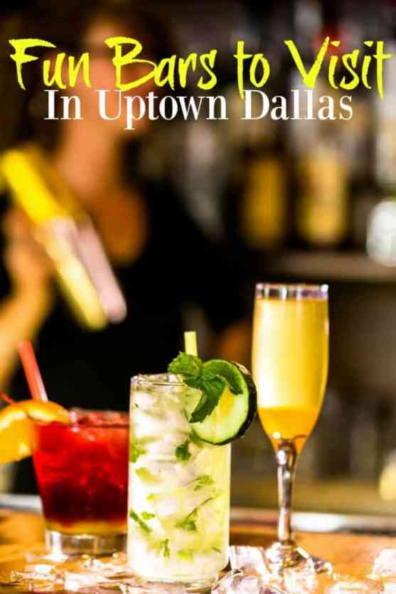 Fun Bars to Visit in Uptown Dallas