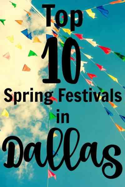 Top 10 Spring Festivals in Dallas