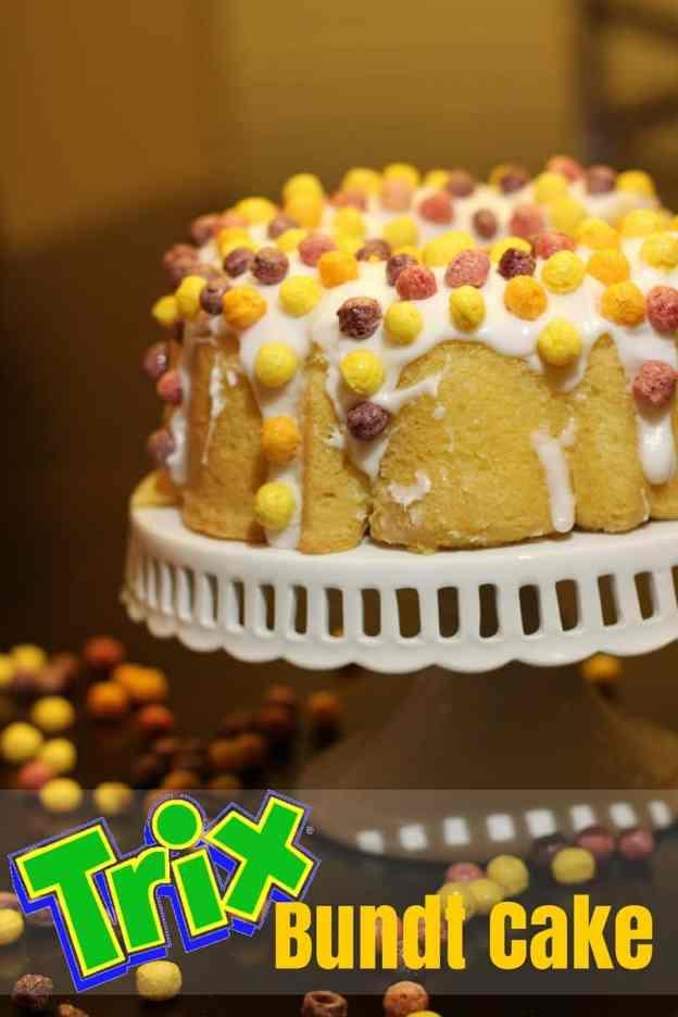 Trix Bundt Cake
