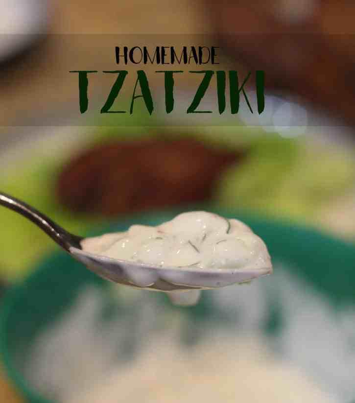 Homemade Tzatziki