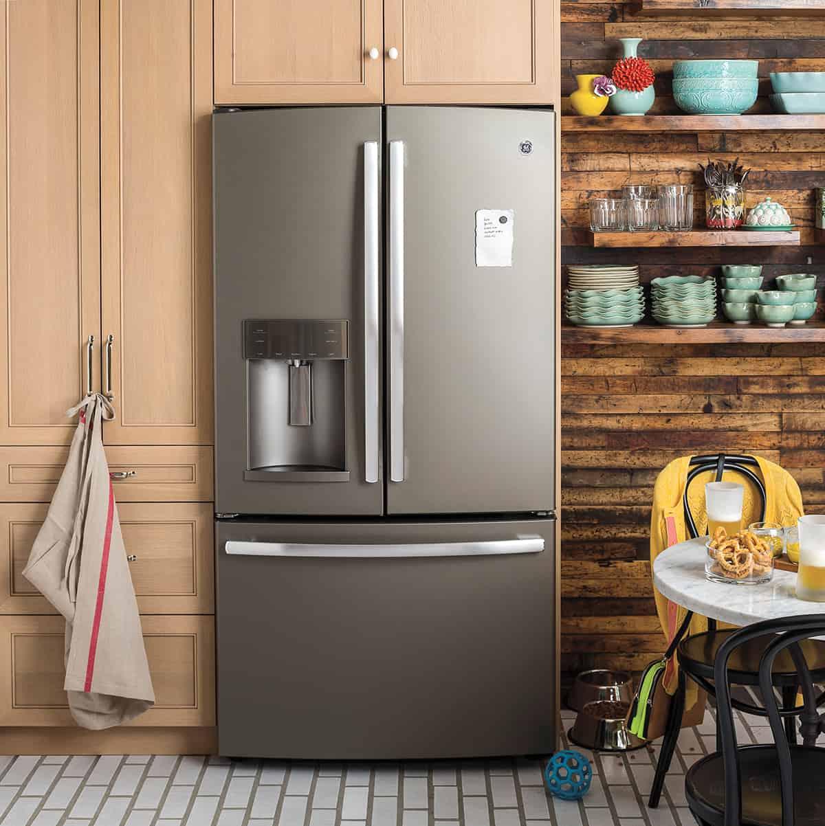GE Refrigerator Slate