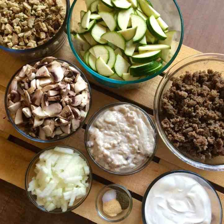 Garden Veggie Summer Casserole Recipe Ingredients