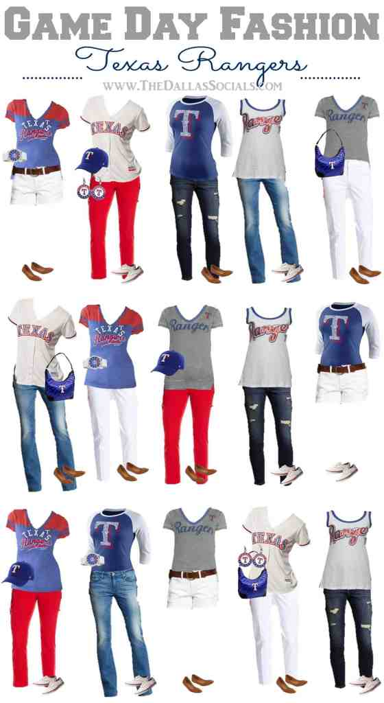 Texas Rangers Game Day Outfit Ideas