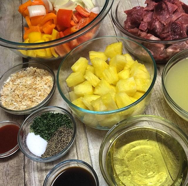 Recipe - Ham and Pineapple Kebabs