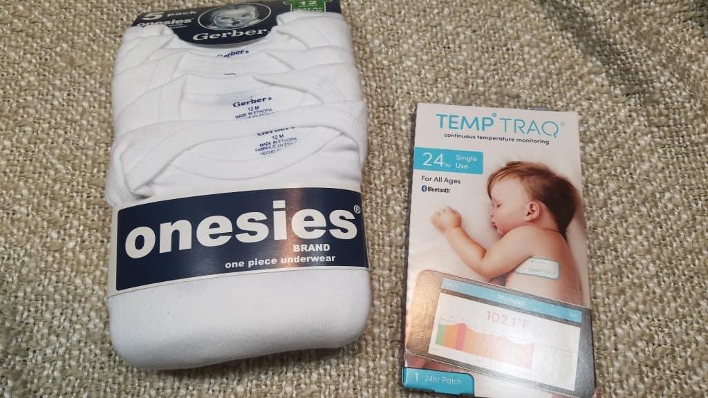 Onesies and Butt Paste - Newborn essentials