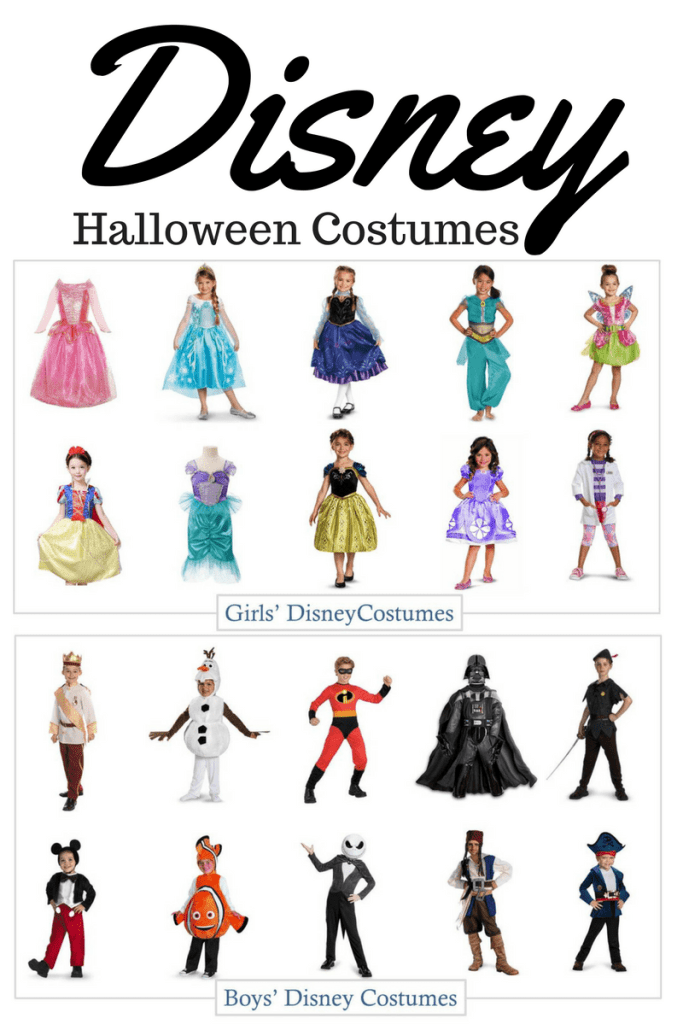 Disney Halloween Costumes for Boys and Girls