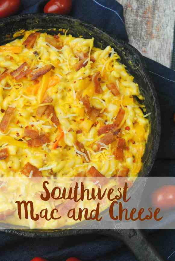 Easy Southwest Mac and Cheese Recipe