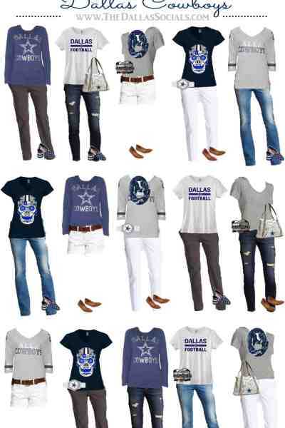 Dallas Cowboys Game Day Fashion