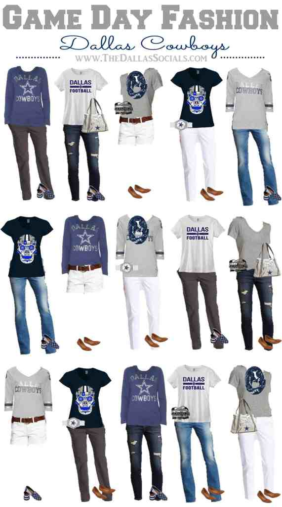 Dallas Cowboys Game Day Fashion  895ae7014