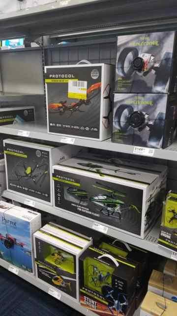 Drones at Best Buy