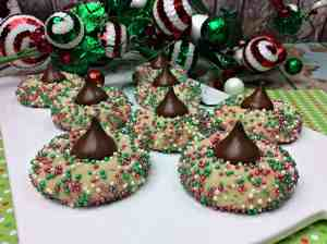 Holiday Sprinkle Cookies