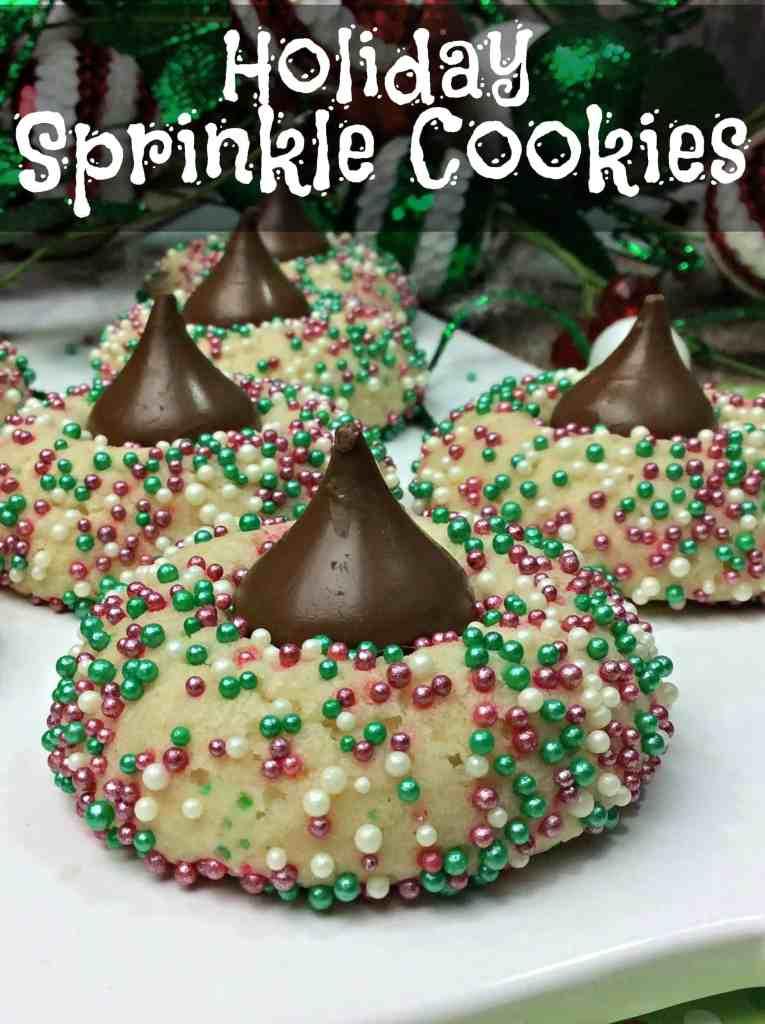 Holiday Sprinkle Cookies