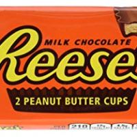 REESE'S Holiday Chocolate Candy, Peanut Butter Cusp, 1.5 Ounce (Pack of 36)
