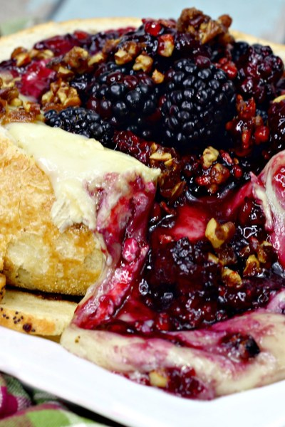 Baked Brie with Fresh Berries