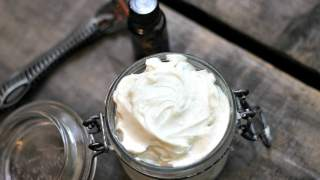 Homemade Shave Cream {Shea Butter Shave Cream}