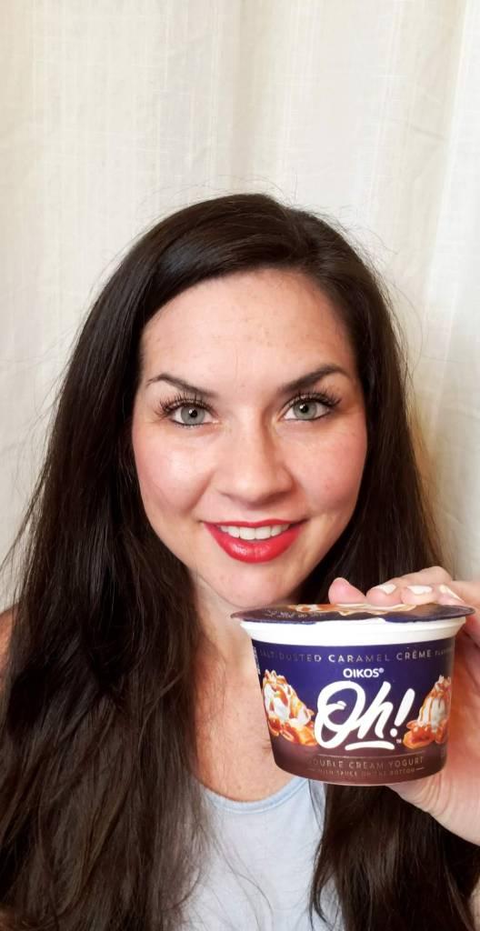 It's All About Balance - Oikos Oh! Double Cream Yogurt