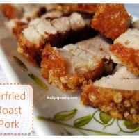 Airfried Roast Pork/ Sio Bak