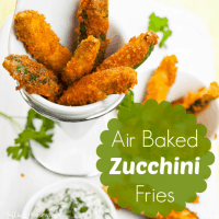 Baked Zucchini Fries Recipe - No Special Equipment Required!