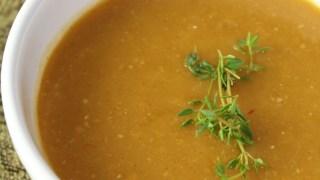 Chipotle Pumpkin Soup (Vegan & Gluten-free)