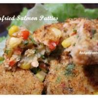 Airfried Salmon Patties