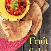 Fruit Salsa With Homemade Cinnamon Chips Recipe