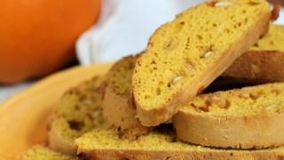 Pumpkin Biscotti Recipe with White Chocolate Chips
