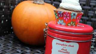 Pumpkin Chai Cupcakes with Buttercream Icing