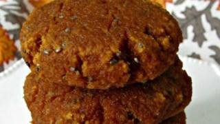 Pumpkin Chia Breakfast Cookies