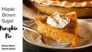 Maple Brown Sugar Pumpkin Pie Recipe