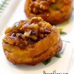 Pumpkin Walnut Sticky Buns Recipe