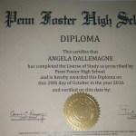 Angel's High School Diploma