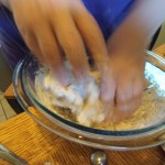 Mixing Dough By Hand