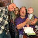 Rowan, His Mommy & Great Grandparents 2019-05-08