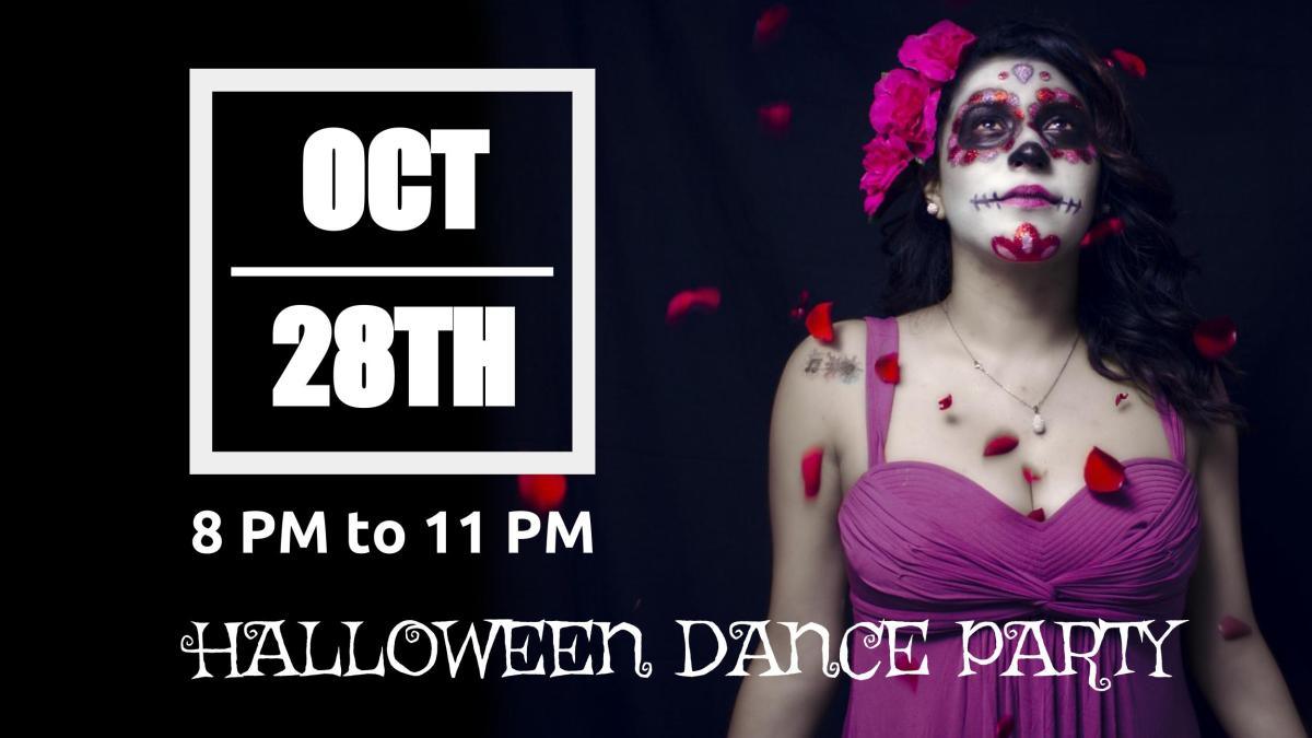 Social Dance Party: Sat Oct 28th (HALLOWEEN EDITION)