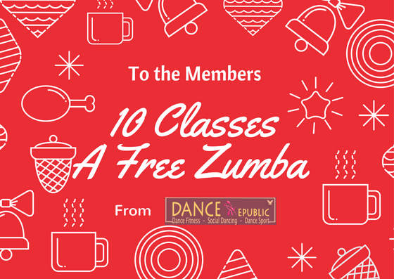 10 Class Package (with one extra Free Zumba class) ($220 Value) Image
