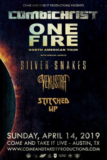 Combichrist, Silver Snakes, Venustra and more