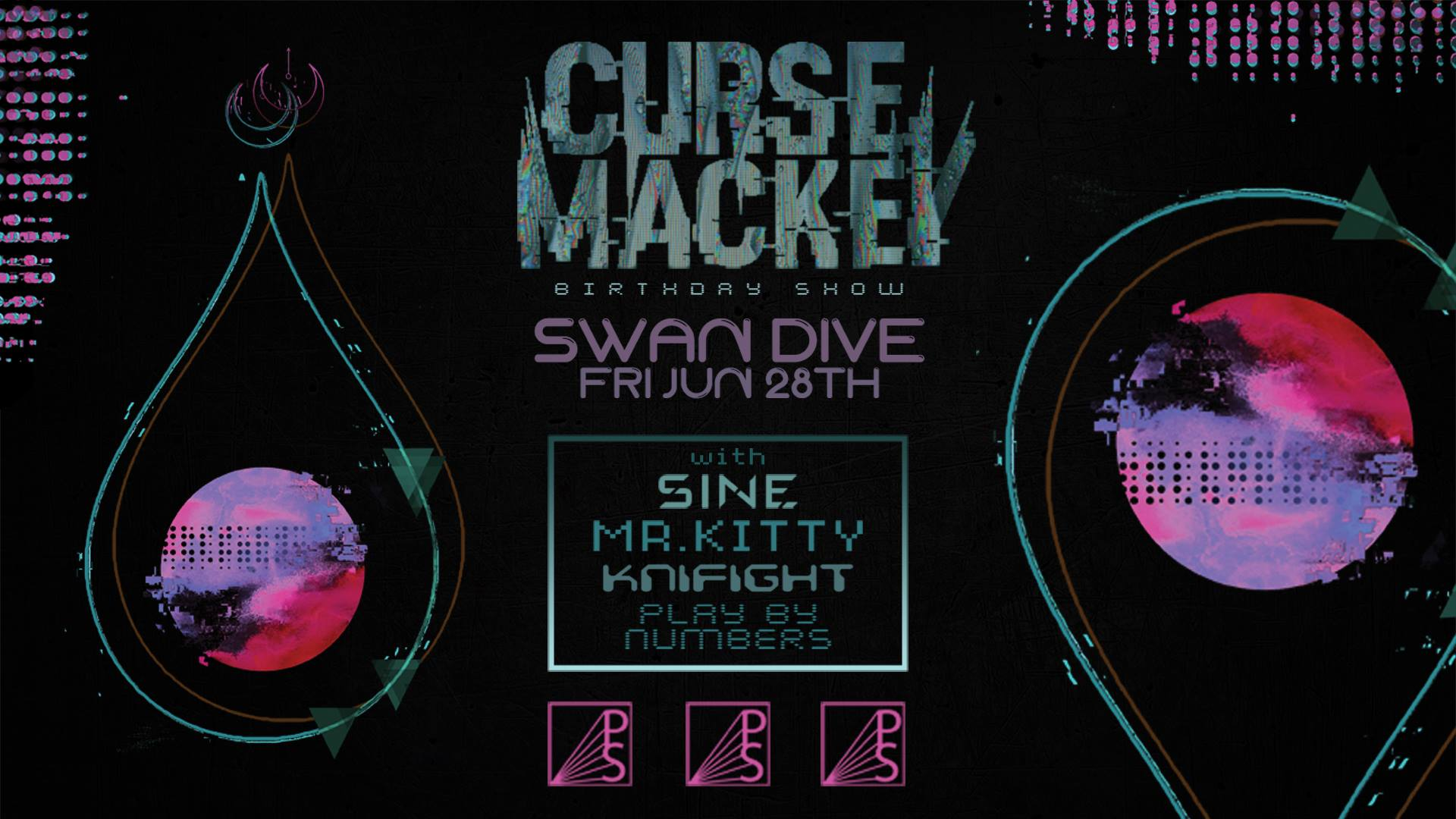 Curse Mackey, Mr.Kitty, Knifight, SINE and More