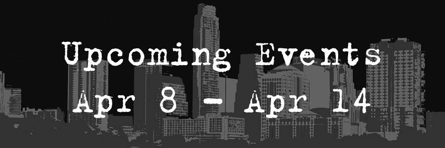Upcoming Events: April 8-14