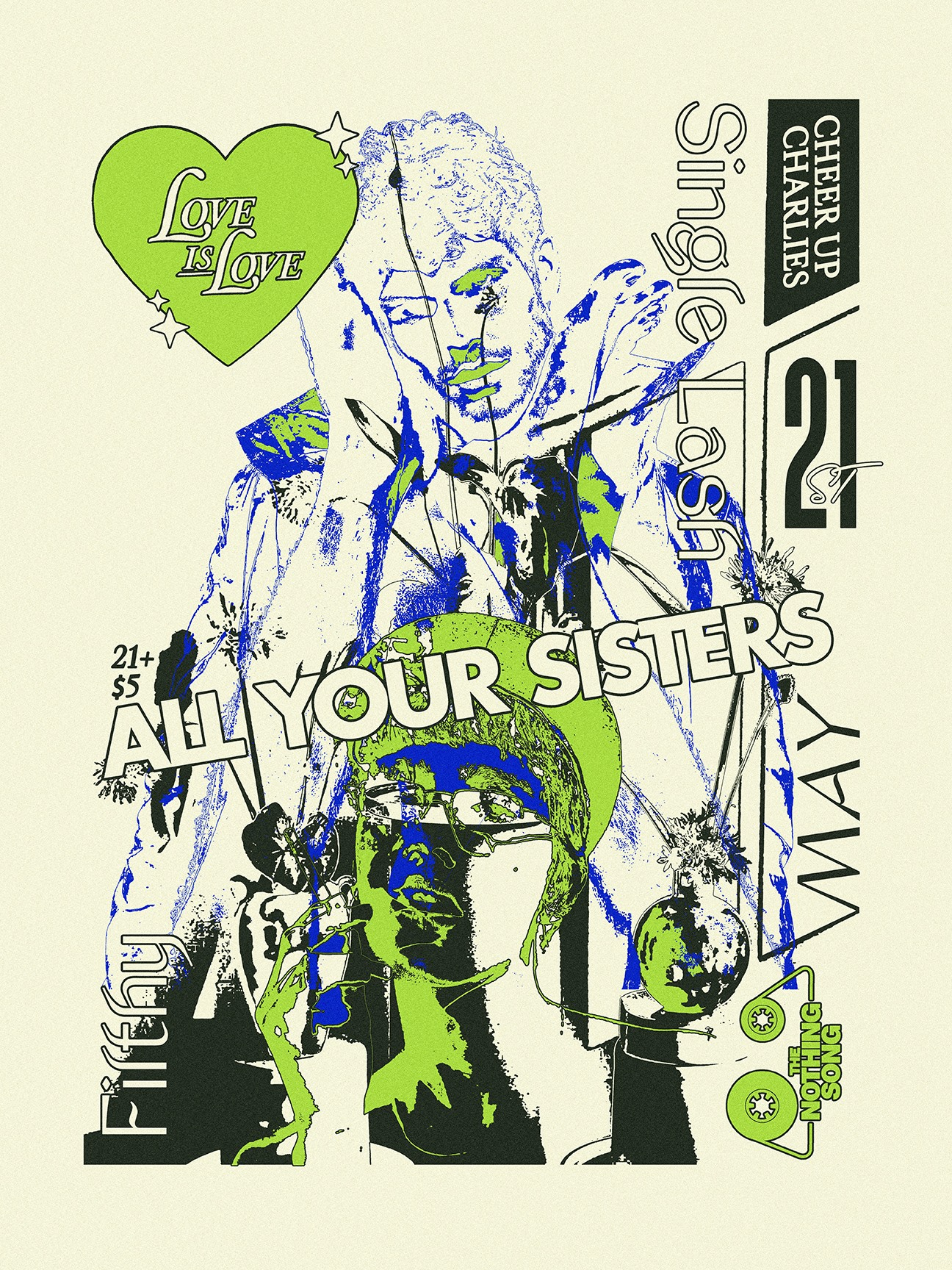 Single Lash / All Your Sisters (San Francisco) / Filthy