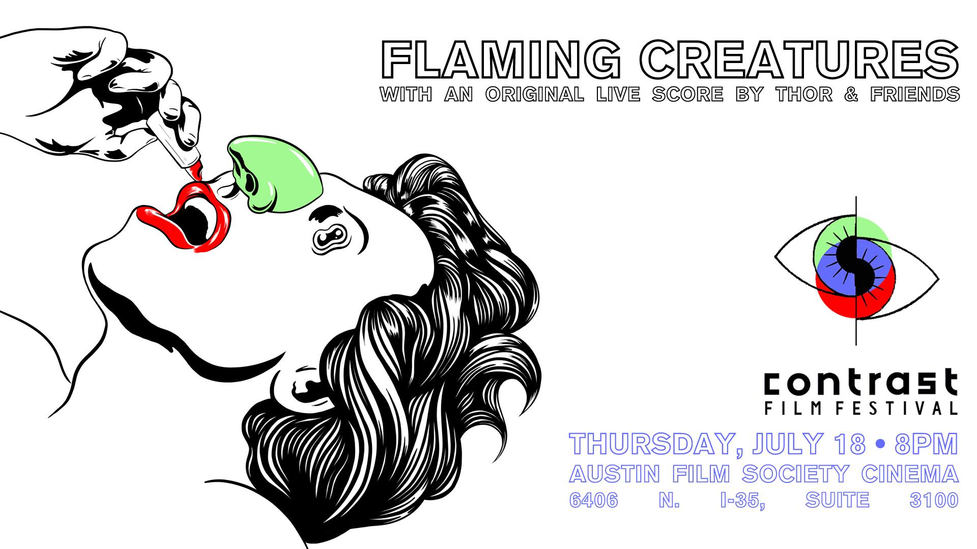 Flaming Creatures with Live Score by Thor & Friends