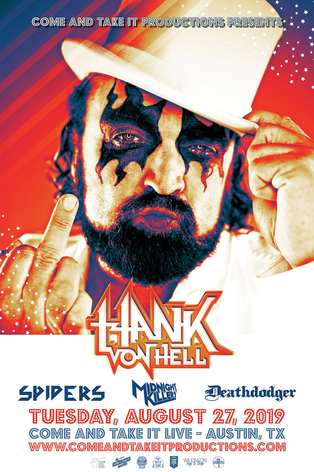 Hank Von Hell, Spiders, Midnight Killers and more