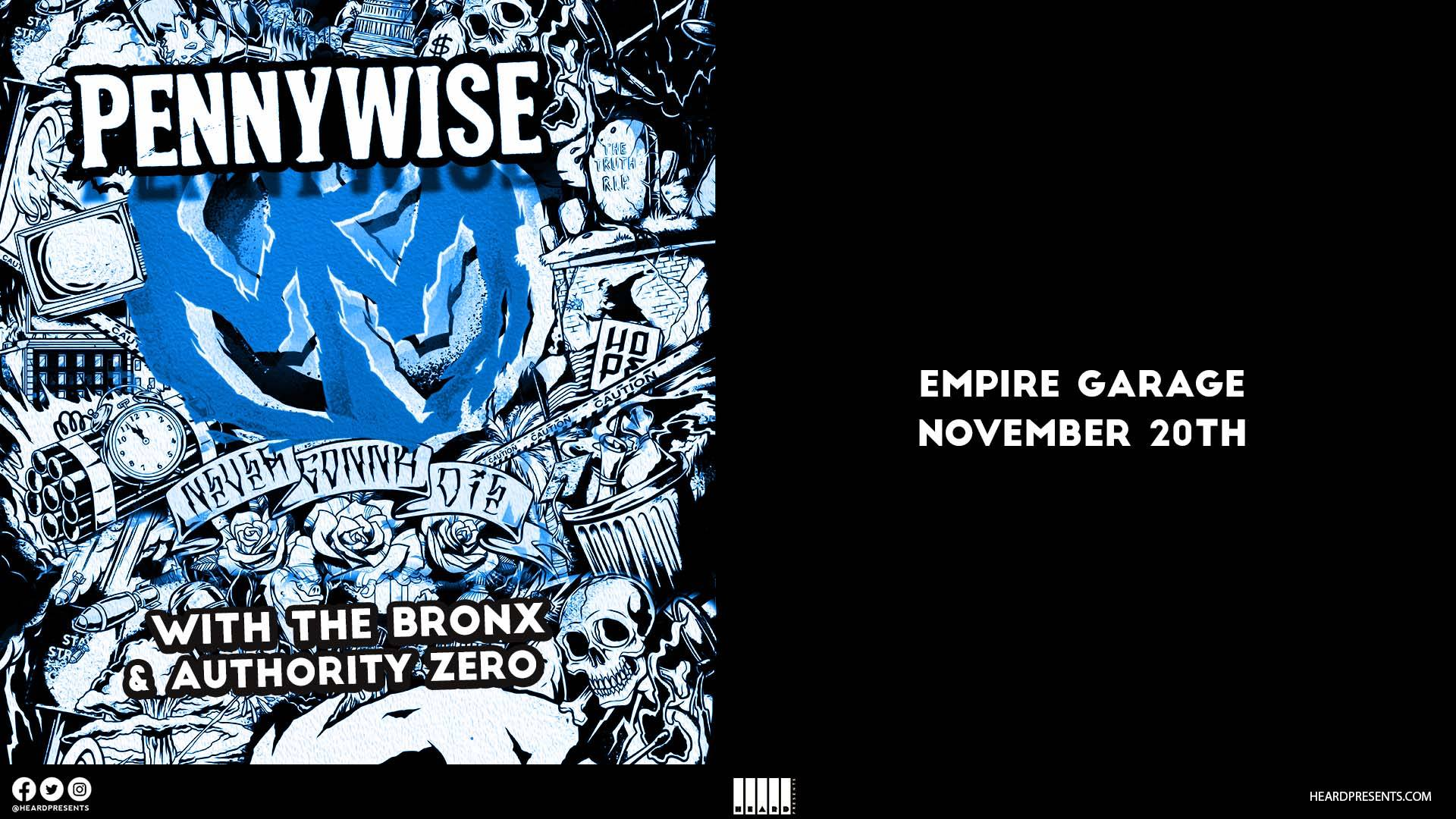 Pennywise at Empire Garage