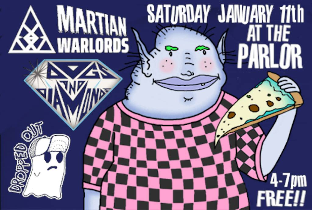 Martian Warlords, Dogs and Diamonds, Dropped Out