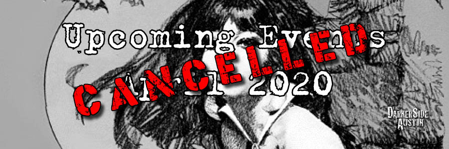Upcoming Events April 2020 - Canceled