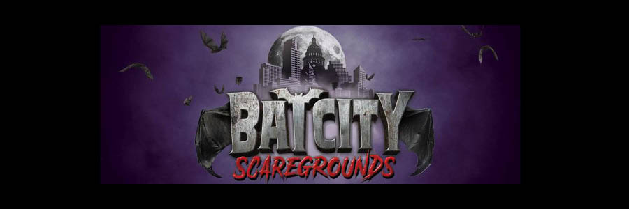 Bat City Scaregrounds banner