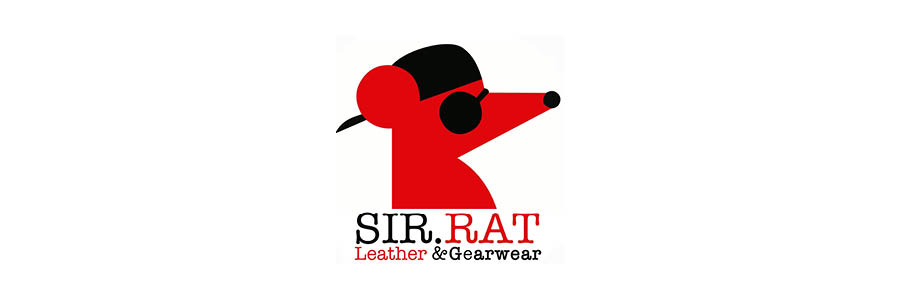 Sir Rat Leather & Gear logo banner