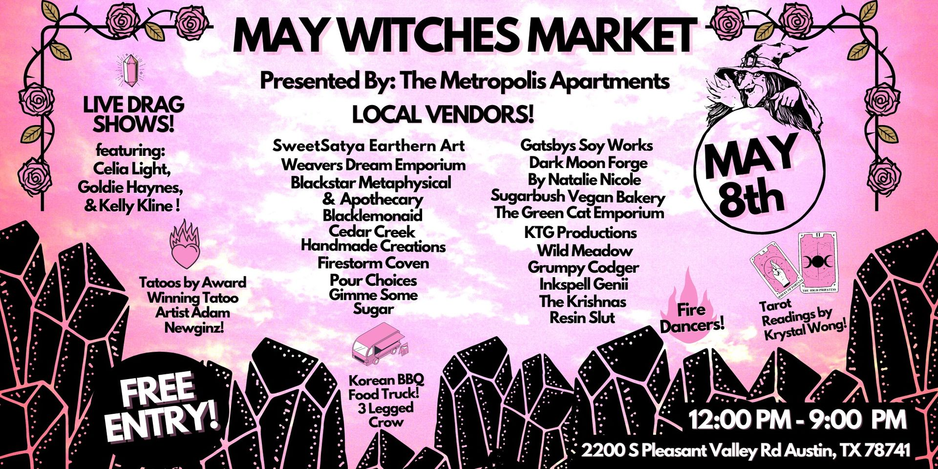 May Witches Market