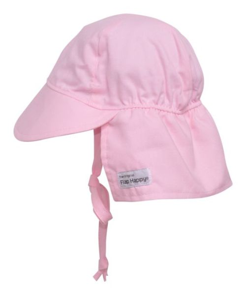 Pink Flap Happy Hat