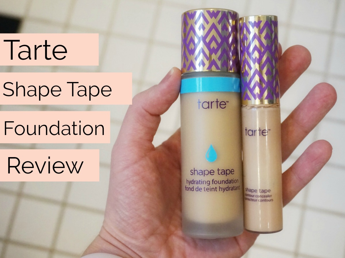 Tarte Shape Tape Hydrating Foundation Review & Thoughts